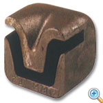 Iron Drive Cap for U-Channel Sign Posts