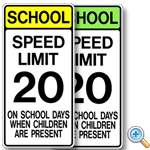 School Zone Speed Limit