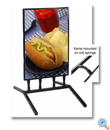 Flex Sidewalk Sign Frame
